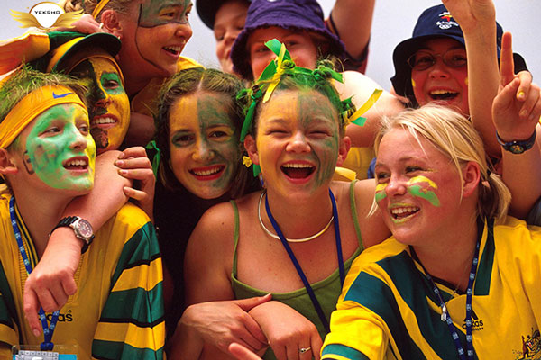 شادترین کشورهای جهان - استرالیا