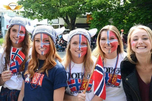 شادترین کشورهای جهان - نروژ