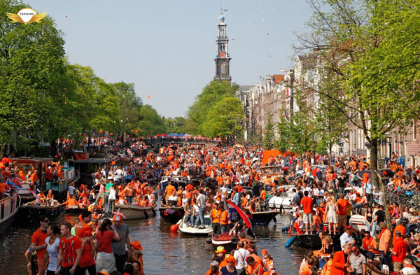 شادترین کشورهای جهان - هلند