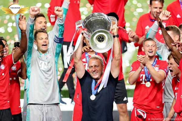 هانس دیتر فلیک و قهرمانی اروپا