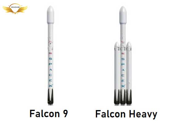 ایلان ماسک - موشک های فالکون 9 و فالکون سنگین