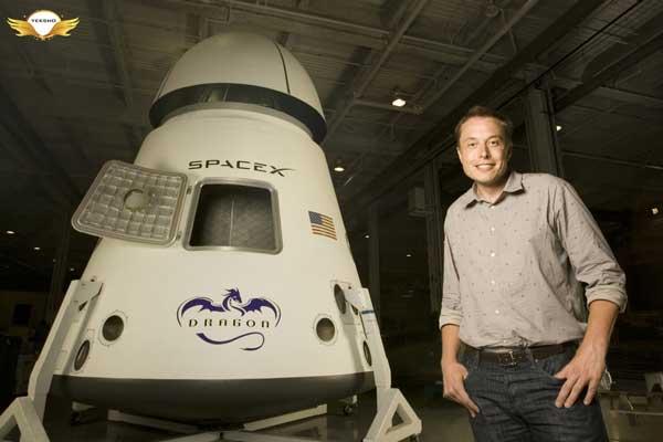 ایلان ماسک - spaceX
